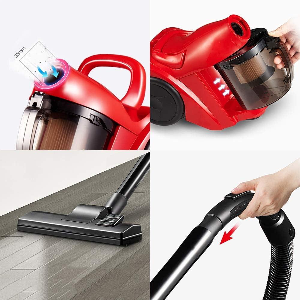 JU FU Aspirador, Mano pequeño 1000W hogar Grande de aspiración de múltiples Funciones aspiradora Rojo Horizontal, 2 Combinaciones Disponibles Productos de Limpieza @@ (Color : B): Amazon.es: Hogar