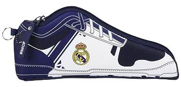 Real Madrid - Estuche portatodo forma zapatilla, 1ª ...