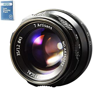 7artisans 35mm F1 2 APS-C Manual Fixed Lens for Sony E: Amazon co uk