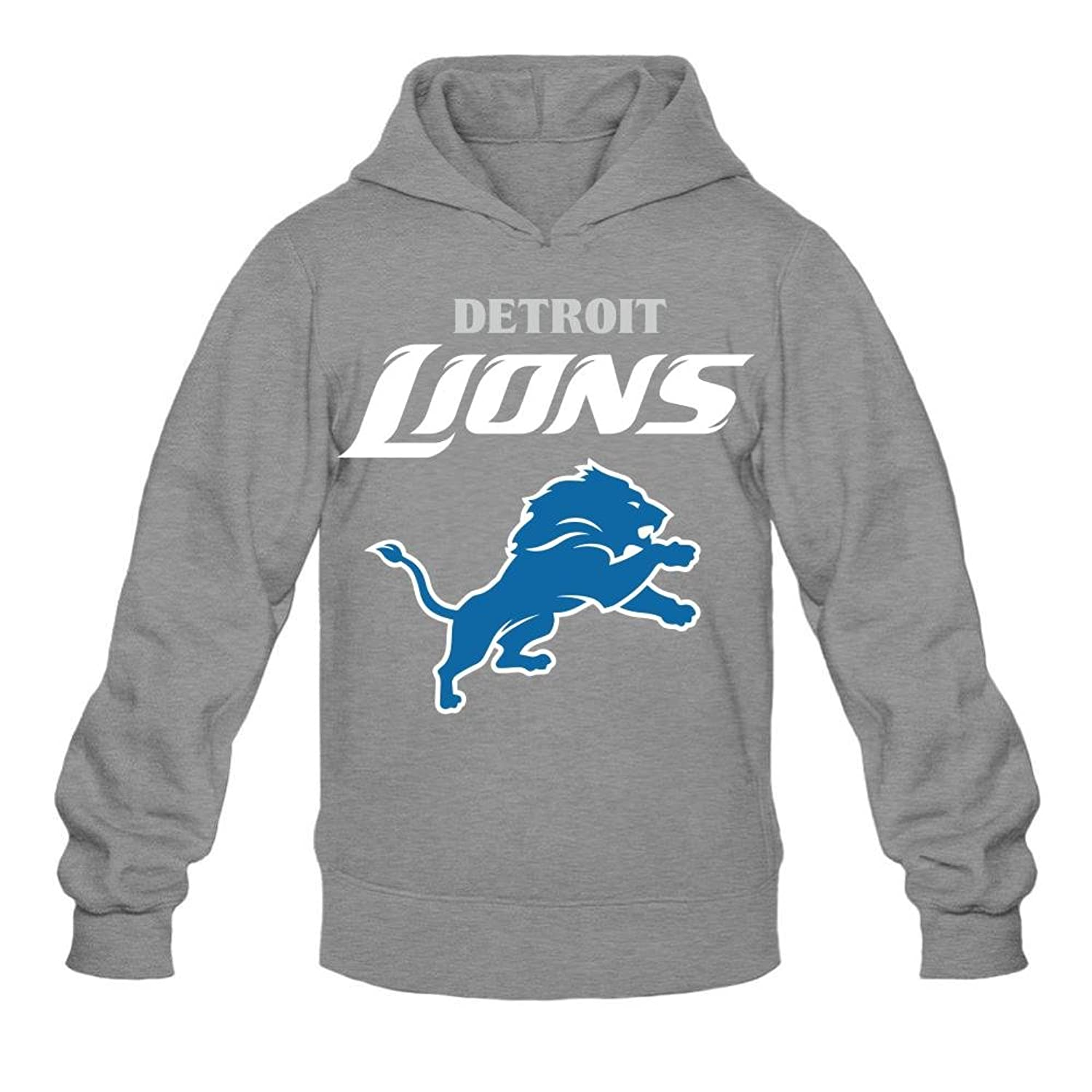 70%OFF Detroit American Football Lions Men's Hoody long sleeved sweater customized design