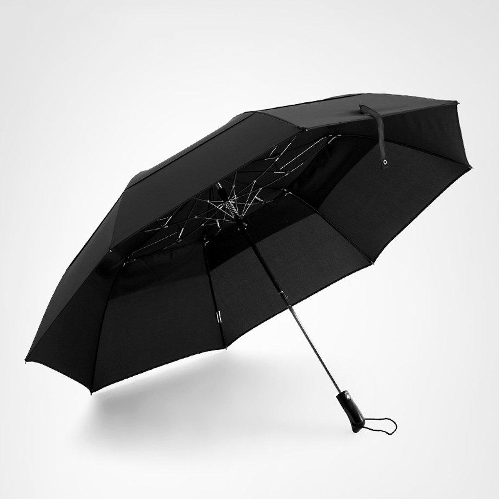 Umbrella Folding Umbrella Windproof for Mens Women – Strong, Small, Light-Weight, Auto Open Close – Compact Windproof Travel Umbrella