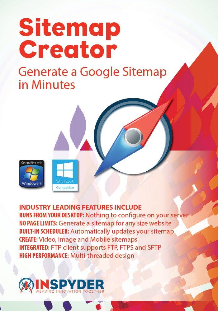Inspyder Sitemap Creator 4 [Download] by Inspyder Software Inc.