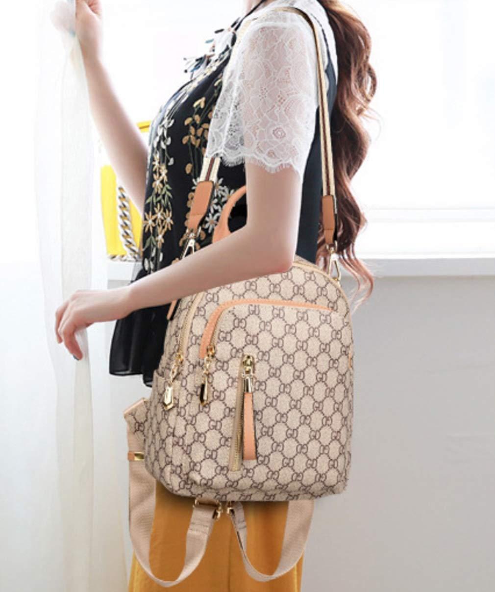 RSQJ Female Bag Shoulder Bag Small Bag Leisure Multi-Function Backpack (Color : C, Size : 22102cm) by RSQJ backpack (Image #3)