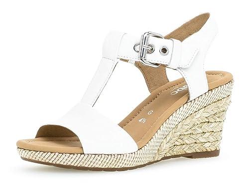 Gabor sandales chaussures plat 22 Femme D'été 824 Compensées confortable PXiOkZu
