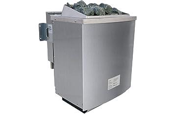 Karibu bio combinado Horno 9,0 kW Cuerpo Base y piedras: Amazon.es: Hogar