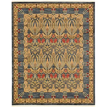 Amazon Com Traditional Oriental Country Rugs Navy Blue 8