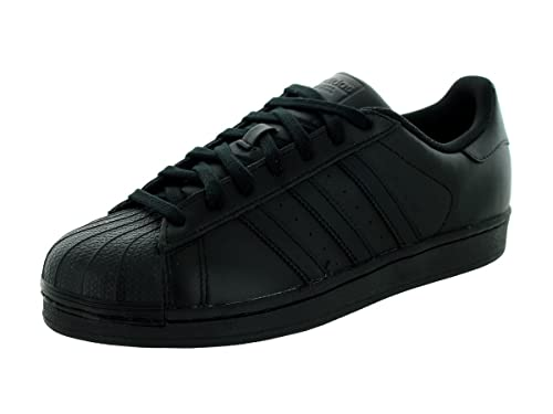 reputable site e797c d60e4 adidas Originals Herren Superstar Niedrig, Schwarz Core Black, 36 2 3 EU