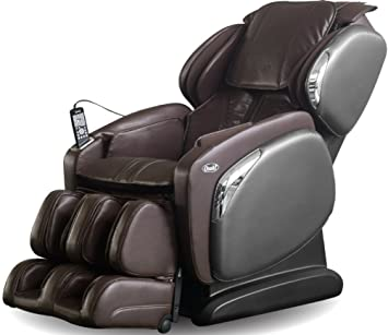 Superbe Osaki OS4000CSB Model OS 4000CS Massage Chair, Brown, L Track Massage,