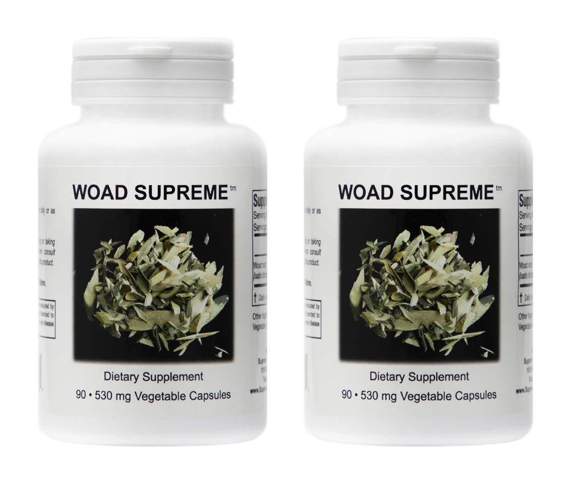 Amazon.com: woad Supreme – 90 Cápsulas, polvo de raíz de ...