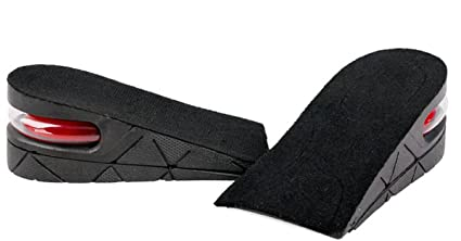 plantillas ajustables y transpirables Plantilla para aumentar la altura para hombres y mujeres con tac/ón con elevador invisible 3 capas acolchada