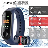 Zoyo Intelligence Bluetooth Health Wrist Smart Band Watch Monitor/Smart Bracelet/Health Bracelet/Smart Watch for Mens/Activity Tracke/Bracelet Watch for Men/Smart Fitness Band