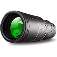 Monocular Telescope,16x52 Monocular Dual Focus Optics Zoom Telescope, Day & Low Night Vision- Waterproof Monocular with…