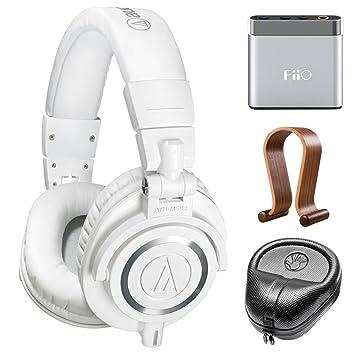 Audio-Technica profesional Studio auriculares (ATH-M50 x wh) W/amplificador