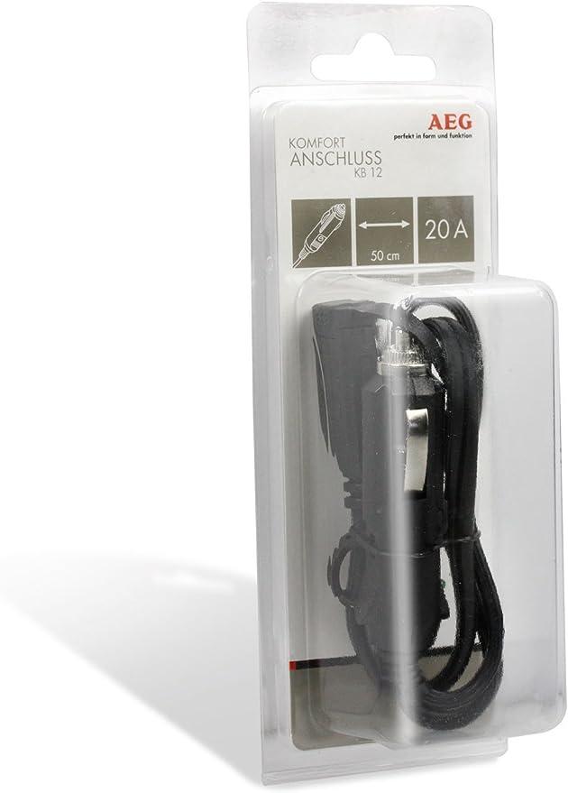 Aeg Automotive 97213 Komfortanschluss Bordsteckdose Kb 12 Auto