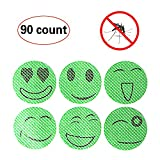 90-COUNT Mosquito Repellent Patch Keeps Insects and Bugs Far Away, Simply Apply to Skin and Clothes , Adult, Kid and Pet-Friendly , Convenient For Travel, Outdoor Concerts and Camping