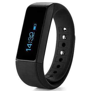 XCSOURCE Pulsera inteligente Bluetooth Pódometro de Pulsera i5 Plus OLED Bluetooth 4.0 Inteligente con Monitor de Actividad y Descanso, Consumo de ...