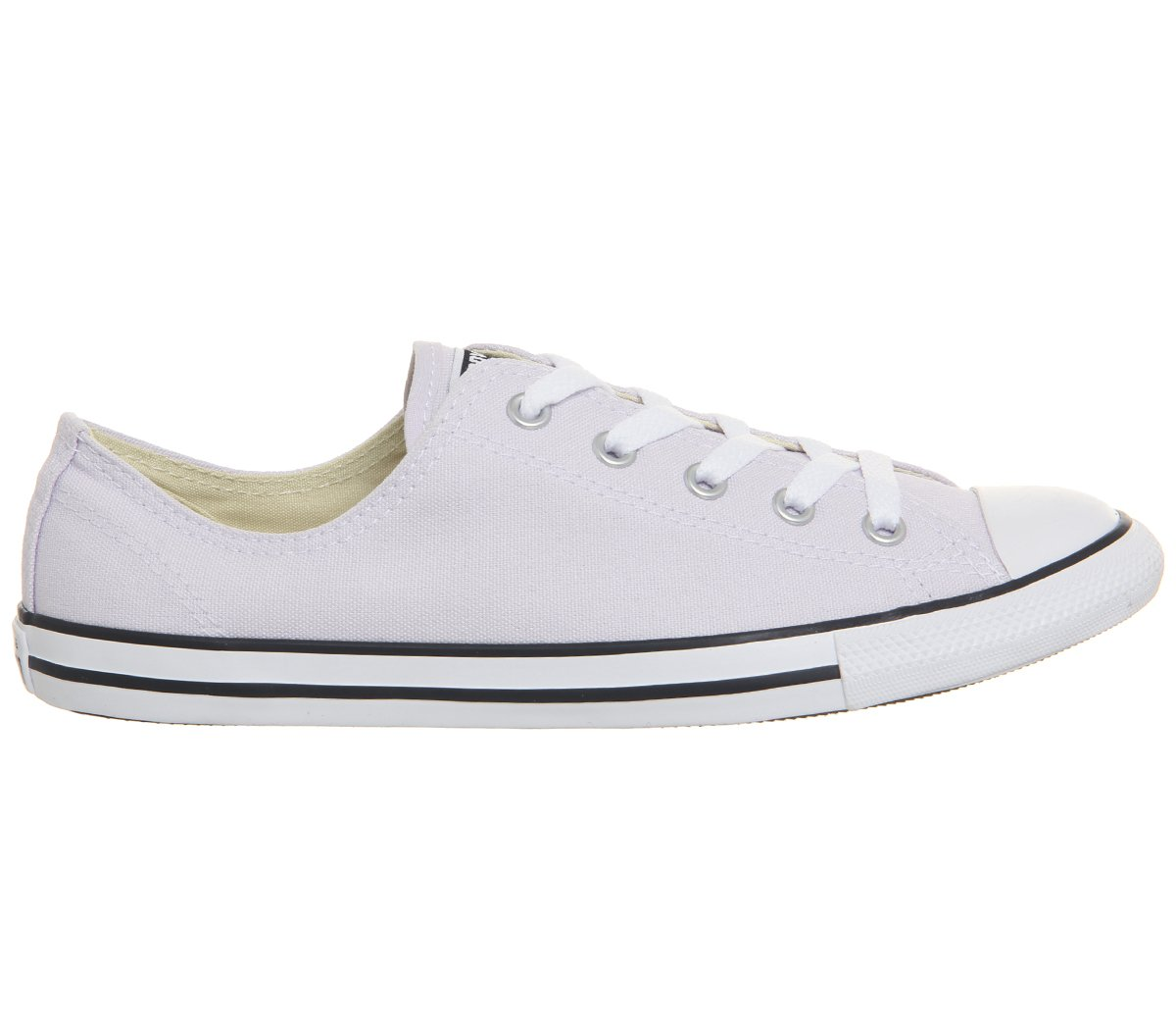 Converse Damen Chuck Taylor CTAS Dainty OX Canvas Fitnessschuhe  35/36 EU|Pink (Barely Grape/White/Black 551)