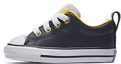 9a10549e126dcf Converse Kids Chuck Taylor All Star Street - Slip Infant Toddler Midnight  Navy Wolf