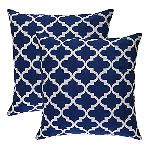 blue pillow amazoncom