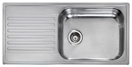 Reginox Minister 10 Top Mount Kitchen Sink Rectangular Kitchen Sinks Top Mount Kitchen Sink Rectangular Stainless Steel 1 Bowling