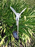 Four Seasons PL-1050-3 Solar Hummingbird Garden Stake light