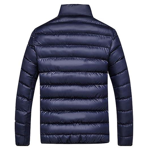 faa4384cb74 Abrigo de algodón de Hombre❤ BBestseller Sweatshirt Cazadora Color Sólido  Cremallera Manga Larga Sudadera Tops Outwear La Chaqueta Invierno   Amazon.es  ...