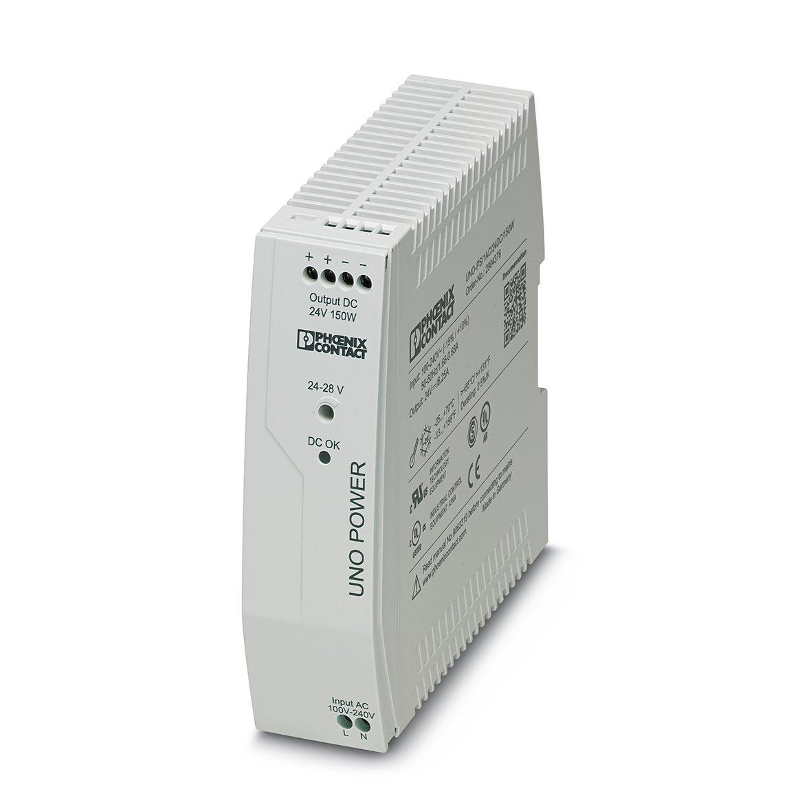 Phoenix uno Power - Módulo regulación tensión uno-ps/1v AC 24v DC 150w