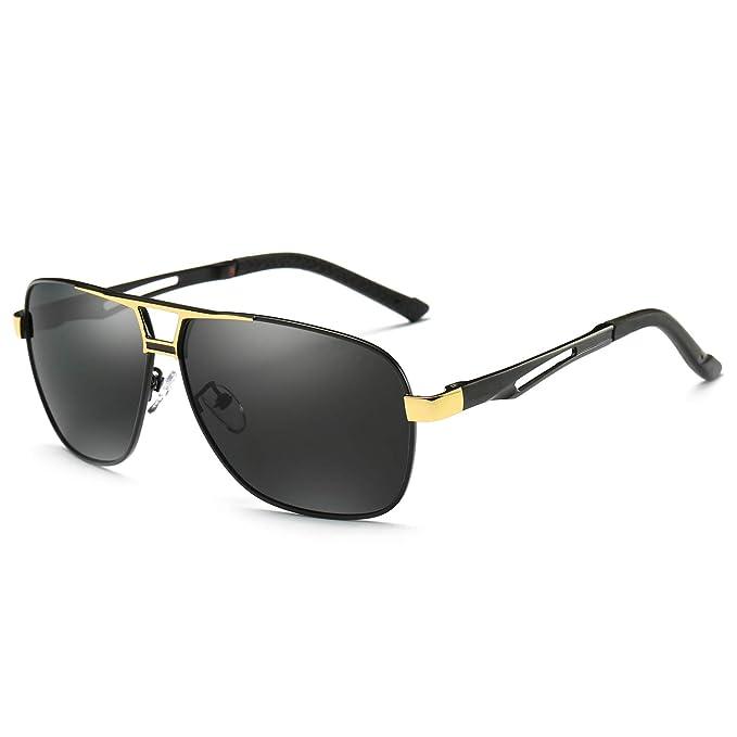 Amazon.com: RoShari Gafas de sol polarizadas para conducción ...