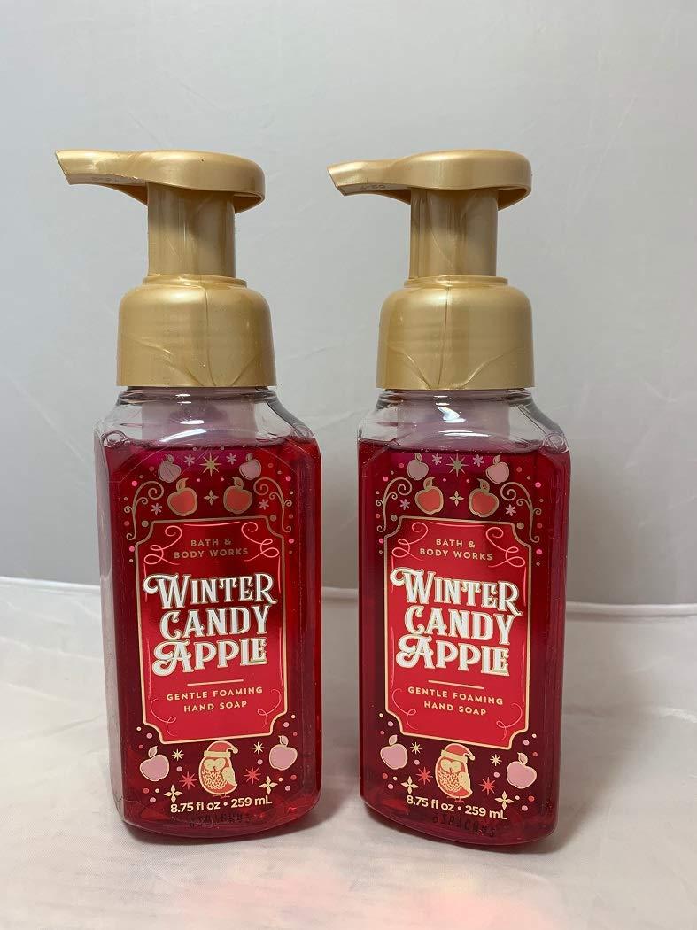 Bath & Body Works Winter Candy Apple Gentle Foaming Hand Soap 2019 (2 Pack)
