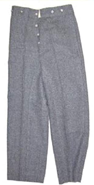 Amazon.com: Guerra Civil c.s.a. Gris Mounted pantalones ...