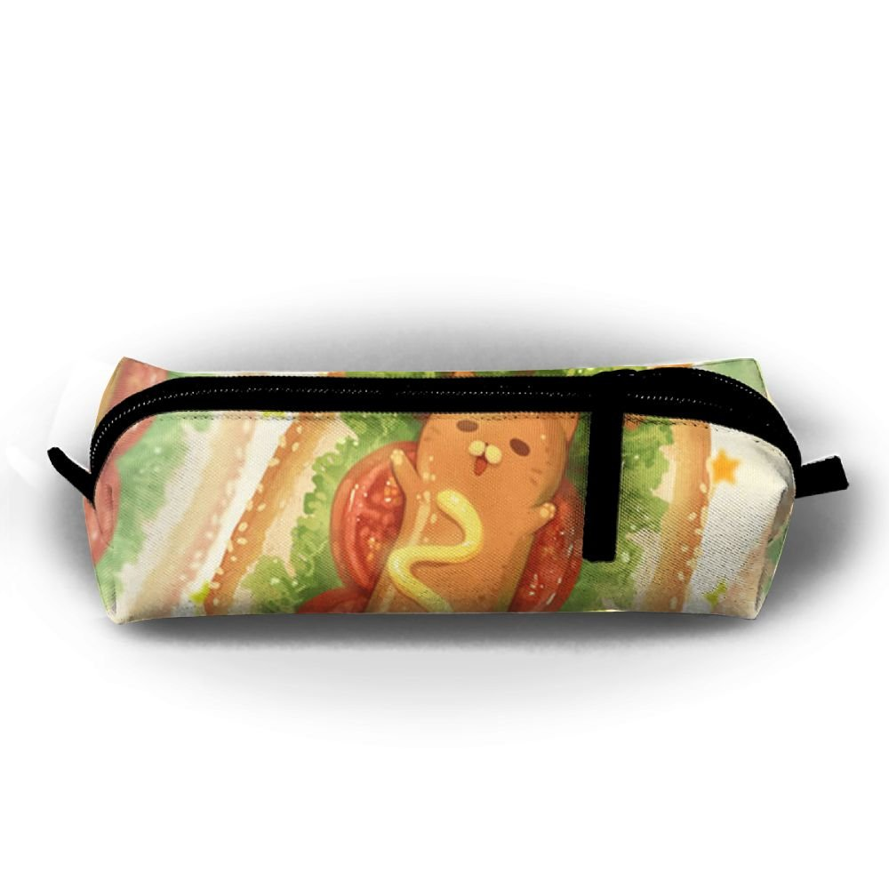 5d33c1da63 Hot Dog Food Cosmetic Bag Pencil Pouch Anti-bacterial Accessory Case For  Youth 60%