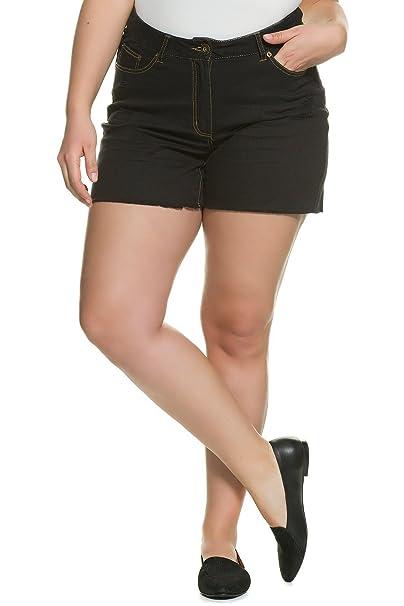 Studio Untold Damen große Größen Bis 54   Shorts   Kurze Hose aus  Stretch-Denim da29bff511