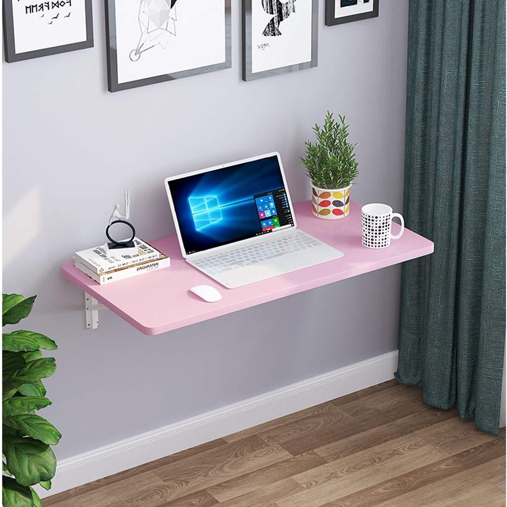 ventas calientes SjYsXm-wall table Mesa de Comedor Plegable de de de Color Rosa Mesa de Comedor de Cocina pequeña para el hogar Mesa de Estar Invisible de Pared Mesa de Escritorio Simple (Tamaño : 80  50CM)  elige tu favorito