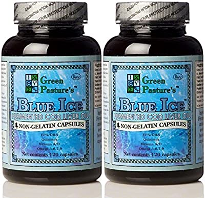 Green Pasture's Blue Ice Fermented COD Liver Oil