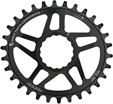 Wolf Tooth Oval Boost Race Face Plato Bicicleta, Negro, 30: Amazon ...