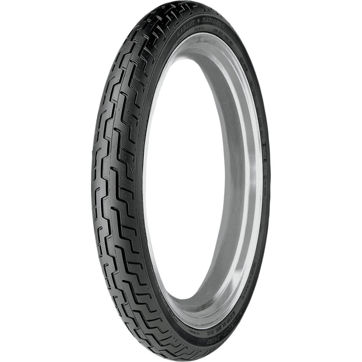 Dunlop D402 Harley-Davidson Blackwall Front Tire - MT90H-16/--