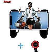 Mobile Game Controller, Cell Phone Game Controller Sensitive Sparare e Pulsanti di Mira L1R1 Pulsanti di Trigger per PUBG / Coltelli / Regole di Supporto di Sopravvivenza Android e iOS