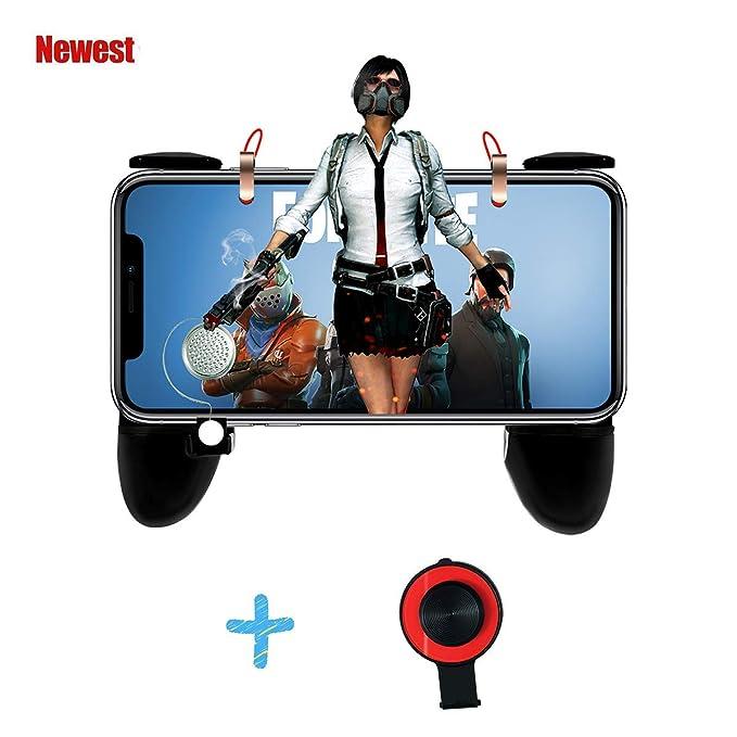 12 opinioni per Mobile Game Controller, Cell Phone Game Controller Sensitive Sparare e Pulsanti