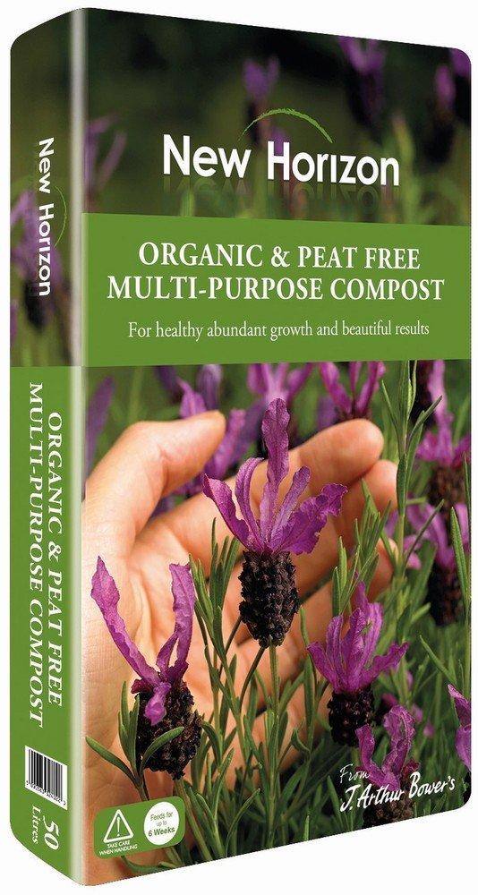 New Horizon Organic & Peat Free Multi-Purpose Compost, 50 Litre William Sinclair Horticulture