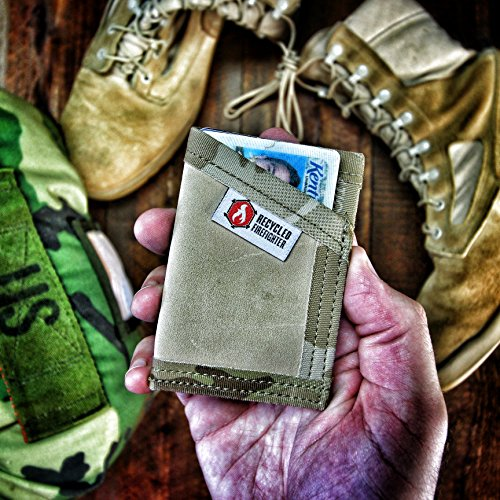 US Combat Boot Leather Money Clip Wallet