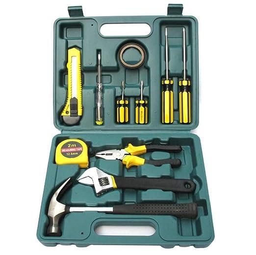 R&Y Home Repair Tool Kit - Herramienta portátil con Estuche de plástico Caja de Herramientas, General de Hogares Spark Juegos de Herramientas gratuitas: ...