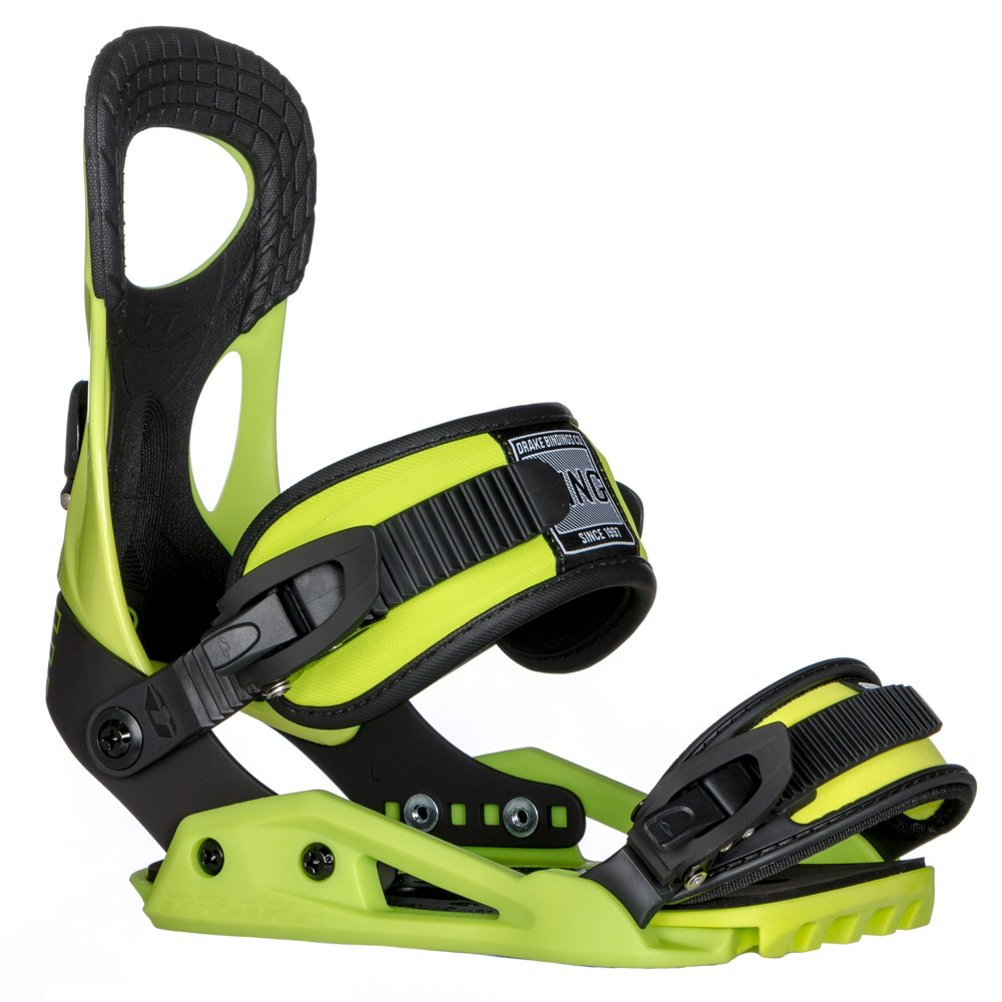 Northwave King Snowboard Bindings 2018 - Large/Lime by Drake