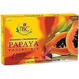 TBC Blemish & Tan Removal Papaya Facial Kit 55gm Pack of 5