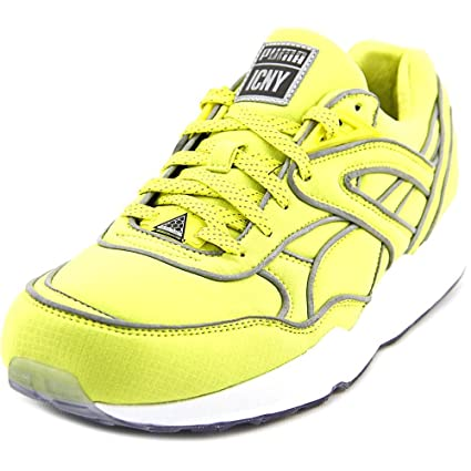 ddfeae6875 PUMA Trinomic R698 x ICNY Men US 9 Yellow Running Shoe