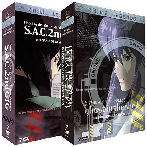 Integral Stand (Ghost in the Shell [Stand Alone Complex] - Intégrale - 2 Coffrets (14 DVD))