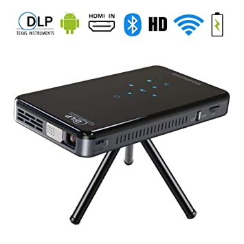 Mini Proyector,Videoproyector HD 1080P LCD,SFZAV Portátil Cine en ...
