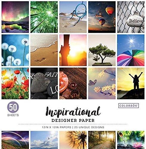 ColorBok 68239C Designer Paper Pad Destinations, 12 x 12 12 x 12