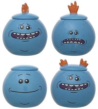 Rick and Morty Mr Meeseeks 6oz Jar Set