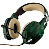 Headset Gamer PS4 / PS5 / XBOX series / SWITCH / PC / LAPTOP GXT 322C Carus Jungle Camo - Trust