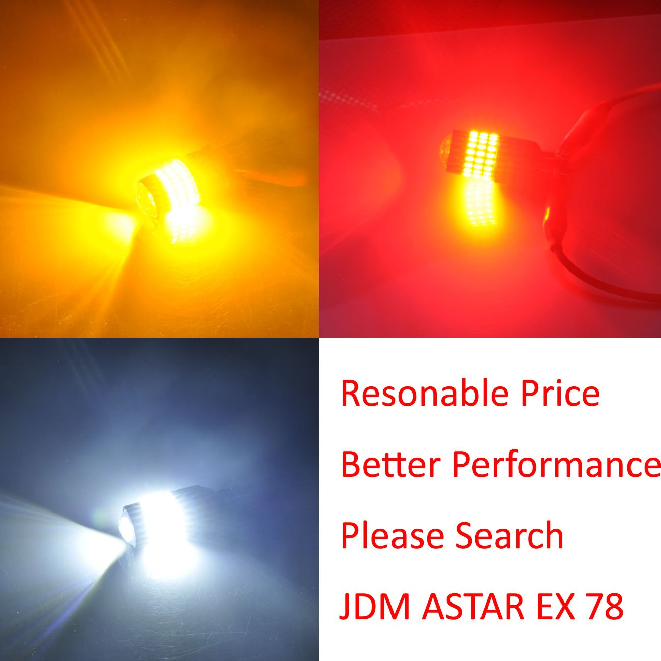 Jdm Astar Super Bright 5730 Chipsets 7507 1156py Bau15s 2003 Suzuki Aerio Gs Sedan In Electric Yellow Click To See Large Led Bulbs With Projectoramber Automotive
